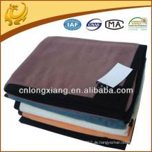 Hochwertiges Plüsch-Freizeit-Sofa Indisches Hotel-Bett-Normalfarben-Bambus-Baumwollwurf-Decke