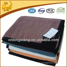Sofá recreativo de felpa de alta calidad Cama de hotel indio Cama de color de bambú Manta de algodón