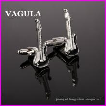 VAGULA Quality Brass Guitar Cuff Links (HL10126)