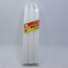 1.2 x 16 cm白いスティックキャンドル