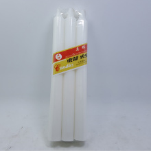 1,2 x 16 cm vitstavstearinljus
