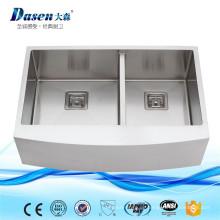 Beste Qualität handgemachte quadratische Form kleine benutzte Schürze Front Waschbecken mit Caddy