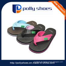 Kundenspezifische Logo Fashion Girl Slipper Schuhe in Gummi Style
