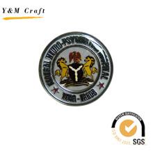 Insigne de Fibula de broches / goupilles de conception faite sur commande de fabricant d'usine (Q09131)