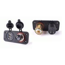 12V24V прикуривателя гнездо/Разъем питания/USB зарядное устройство гнездо