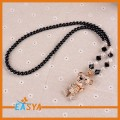 Lover Tiger Shape With Zinc Alloy Fashion Pendant Necklaces