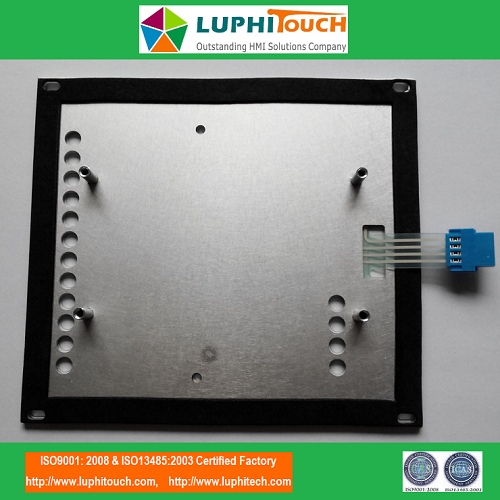 Aluminium Backer Tactile Membrane Keypad
