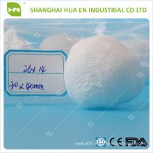 Con CE FDA ISO certificó la bola absorbente de la gasa del algodón de China
