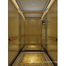 Luxurious Passenger Elevator Approved by GOST Certificate