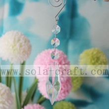 Quality for Glass Bead Trim Crystal Chandelier Prisms Icicle Spear Ornament Linked By Hook supply to Indonesia Importers