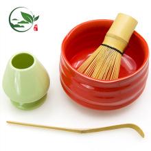 80 pontas de bambu de chá Whisk, japonês Matcha acessórios