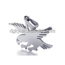 Stainless Steel Eagle Pendants Charms
