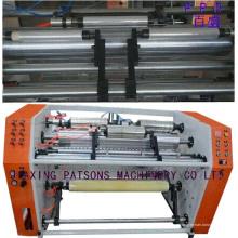 El PVC de múltiples funciones se aferra a la máquina de rebobinado de corte de película con la línea DOT