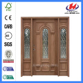 *JHK-12-1 Hand Carved Wood Door Frame Carved Wood Door Panels Wood Carving Door Designs