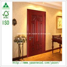 Puerta de puerta sólida Puerta de entrada Solide estilo moderno