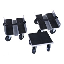 Dolly de snowmobile resistente conjunto de 3