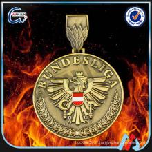 Médaille de médailles BUNDESLIGA plaqué or