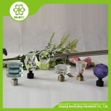 Wholesale Low Price High Quality Crystal Curtain Rod