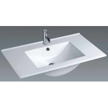 Thin Edge Vanity Ceramic Bathroom Basin (100E)