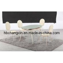 Venta caliente de alta calidad nuevo diseño ampliación comedor mesa moderna