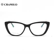 Preiswerte Brillen Großhandel handgefertigte Acetat optische Rahmen Brillen