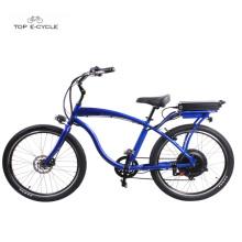 2018 nueva alta calidad 48v750w motor de cubo trasero eléctrico crucero de playa bicicletas