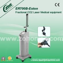Er700b Laser Fracionário CO2 Laser Equipamentos Médicos Laser (25W)