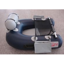 Kleine Bauchboot Aufblasbare Fischen PVC