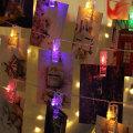 Новогоднее украшение для вечеринки Led Photo Clips Lights