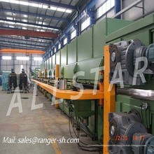 discontinuous polyurethane sandwich panel production line