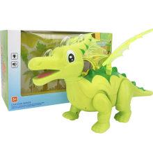 Simulación de las alas eléctricas Dragon Dinosaur