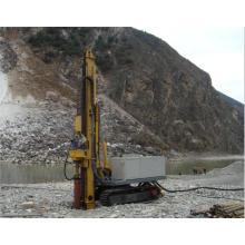 Crawler-type full hydraulic drilling rig