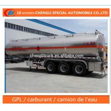 Reservatório De Carburant Semi Remorque En Reboque De Alumínio