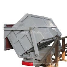 Wagon de mine d'extraction minière de vidage latéral 4 Wagon de mine de roue à vendre