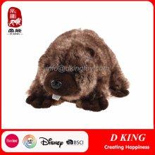 Emulational Plush Stuffed Soft Beaver Animal Toys