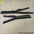 Fermeture à glissière imperméable noire de TPU de No.5 pour l'imperméable
