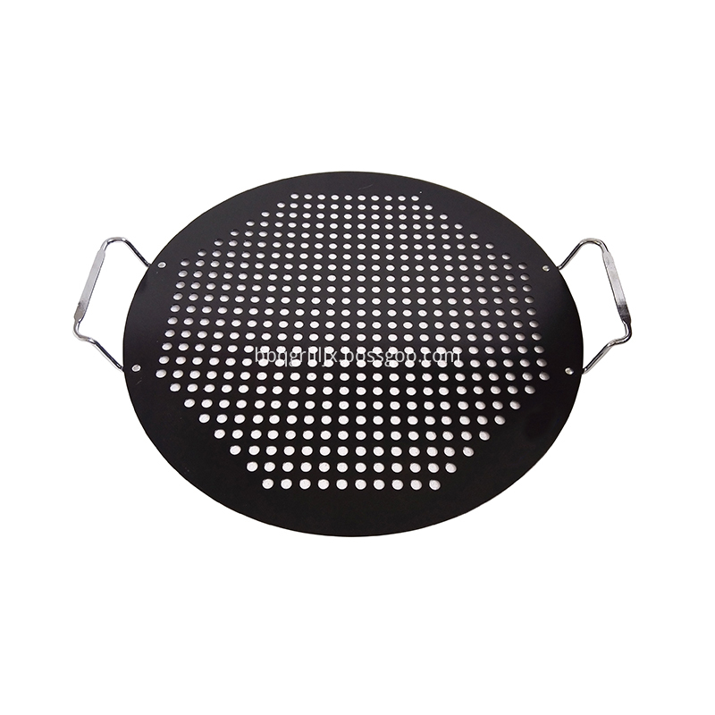 Non Stick Pizza Pan With Handle