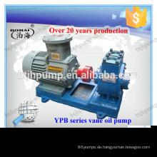 YHCB-Tanker beim Be- und Entladen der Ölpumpe