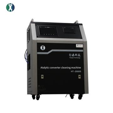 Máquina de limpieza de convertidor catalítico de tres vías para Cayenne