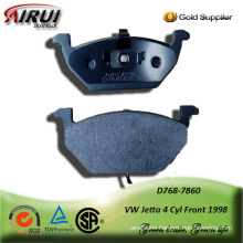 SEMI-METALLIC BRAKE PAD FOR VW Jetta 4 Cyl Front 1998