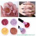 Порошок розового золота для ногтей