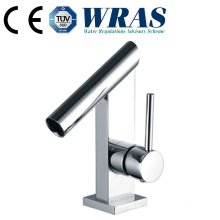 Brass long neck hot water faucet