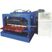 Machine de formage de rouleaux de tuiles en acier galvanisé automatique