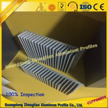 Dissipateur thermique en aluminium de dissipateur de chaleur en aluminium