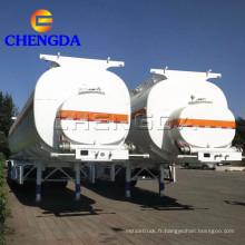 Remorques de camion-citerne de carburant 60000L