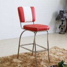 Clásica silla de la barra de estilo americano de los años 50 de Marilyn con el reposapiés (SP-HBC424)
