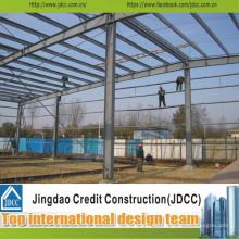 Professionelle und schnelle Montage von Stahlkonstruktionen und Gebäuden