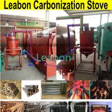 Horno de carbonización de lignito para hacer carbón de leña Shisha