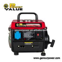 Pequeño generador de la gasolina 400W Fábrica de Zhejiang Generador de la gasolina 950