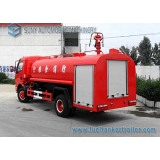 dongfeng 5000L 4x2 water sprinkle simple fire fighting truck